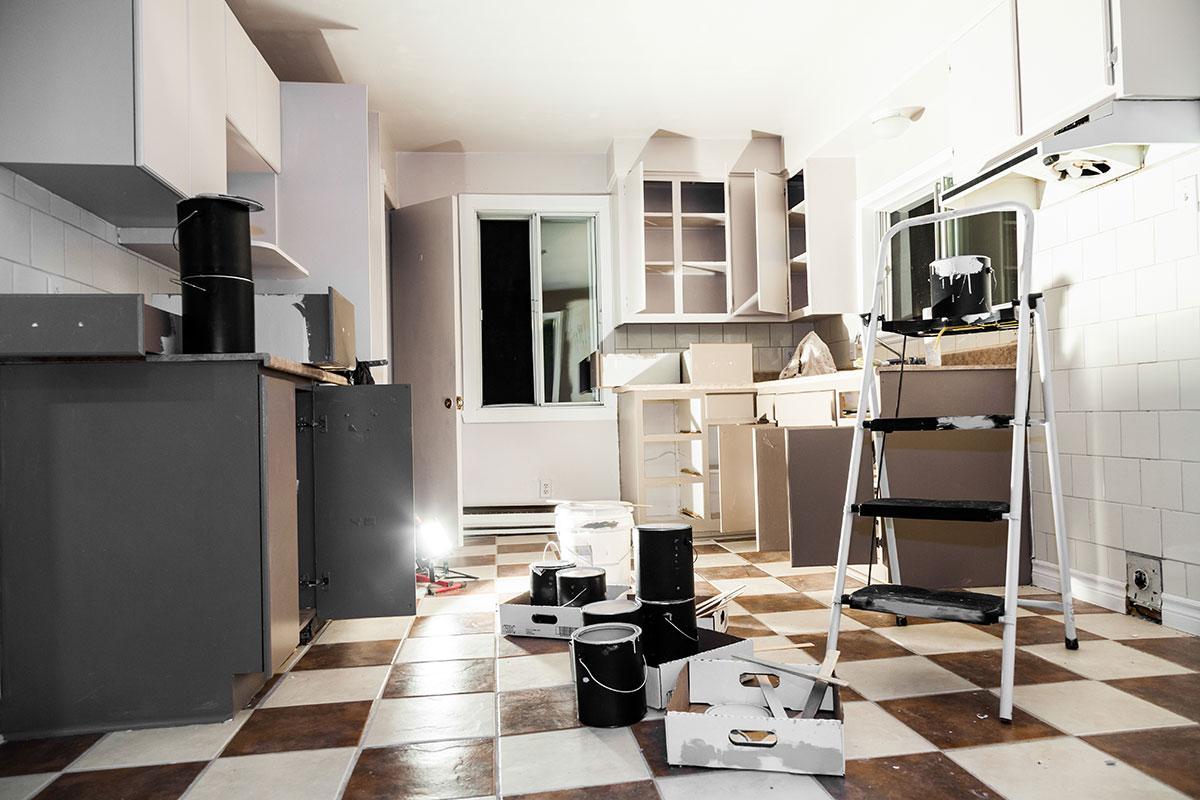 Küchenumzug